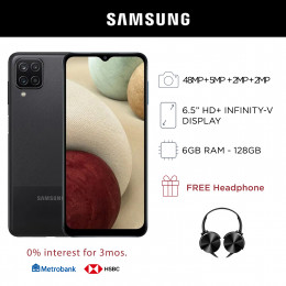 Samsung Galaxy A12 Mobile Phone 6.5-inch Screen 6GB RAM and 128GB Storage