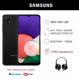 Samsung Galaxy A22 LTE Mobile Phone 6.4-inch Screen 6GB RAM and 128GB Storage