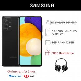 Samsung Galaxy A52 Mobile Phone 6.5-inch Screen 8GB RAM and 128GB Storage
