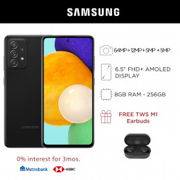 Samsung Galaxy A52 Mobile Phone 6.5-inch Screen 8GB RAM and 256GB Storage
